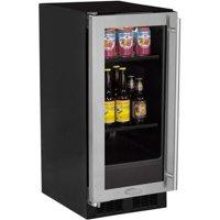 Marvel ML15BCG1L 15 Beverage Center Stainless Frame Glass Door - Left Hinge