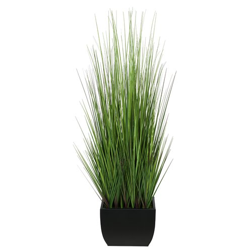 House of Silk Flowers Inc. Artificial 44'' Foliage Grass in Decorative Vase