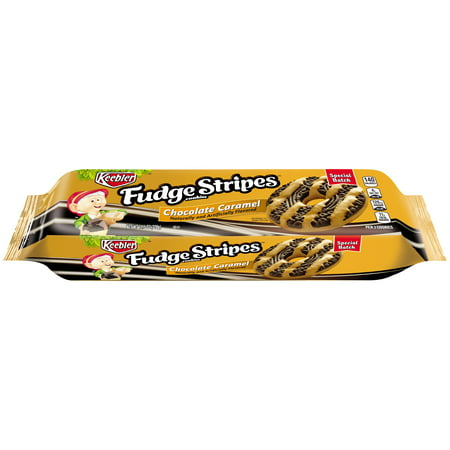 Holiday Fudge - (3 Pack) Keebler Fudge Stripe Slated Caramel 11.5 Oz