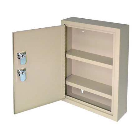 Empty Metal Industrial Cabinet - MMF INDUSTRIES Empty First Aid Cabinet,Sand,Steel 2019035DO3
