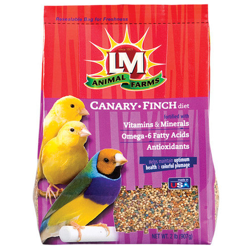 LM ANIMAL FARMS LM CANARY/FINCH 2 LB