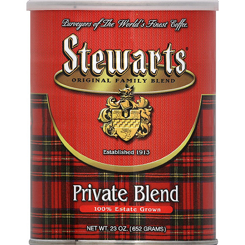 Stewarts Private Blend Ground Coffee, 23 oz, (Pack of 6)