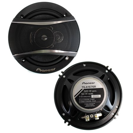 "Pioneer TS-A1676R 6.5"" A-Series 320-Watt 3-Way Speakers"