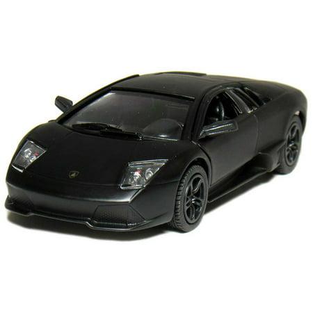 5  Die Cast  Lamborghini Murcielago Lp640  Matte Black
