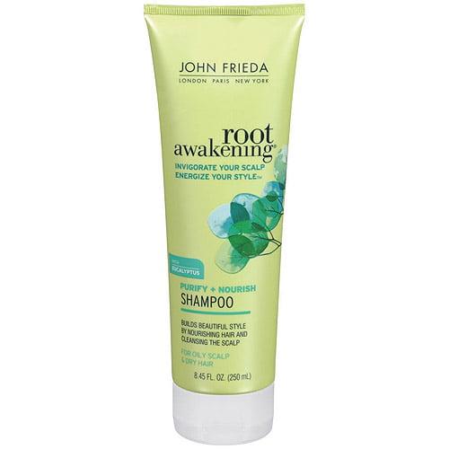 John Frieda Nourishing Moisture Shampoo Root Awakening 8.45 Fl Oz