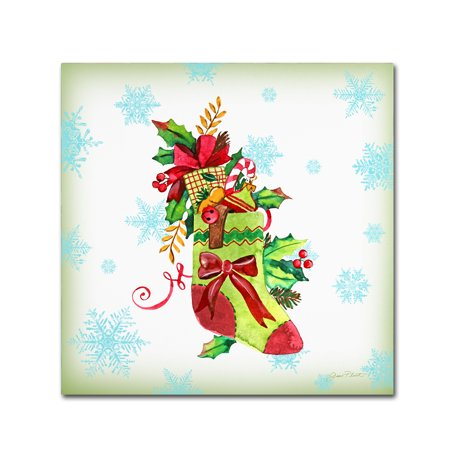 Trademark Fine Art 'Holiday Celebration 2' Canvas Art by Jean Plout
