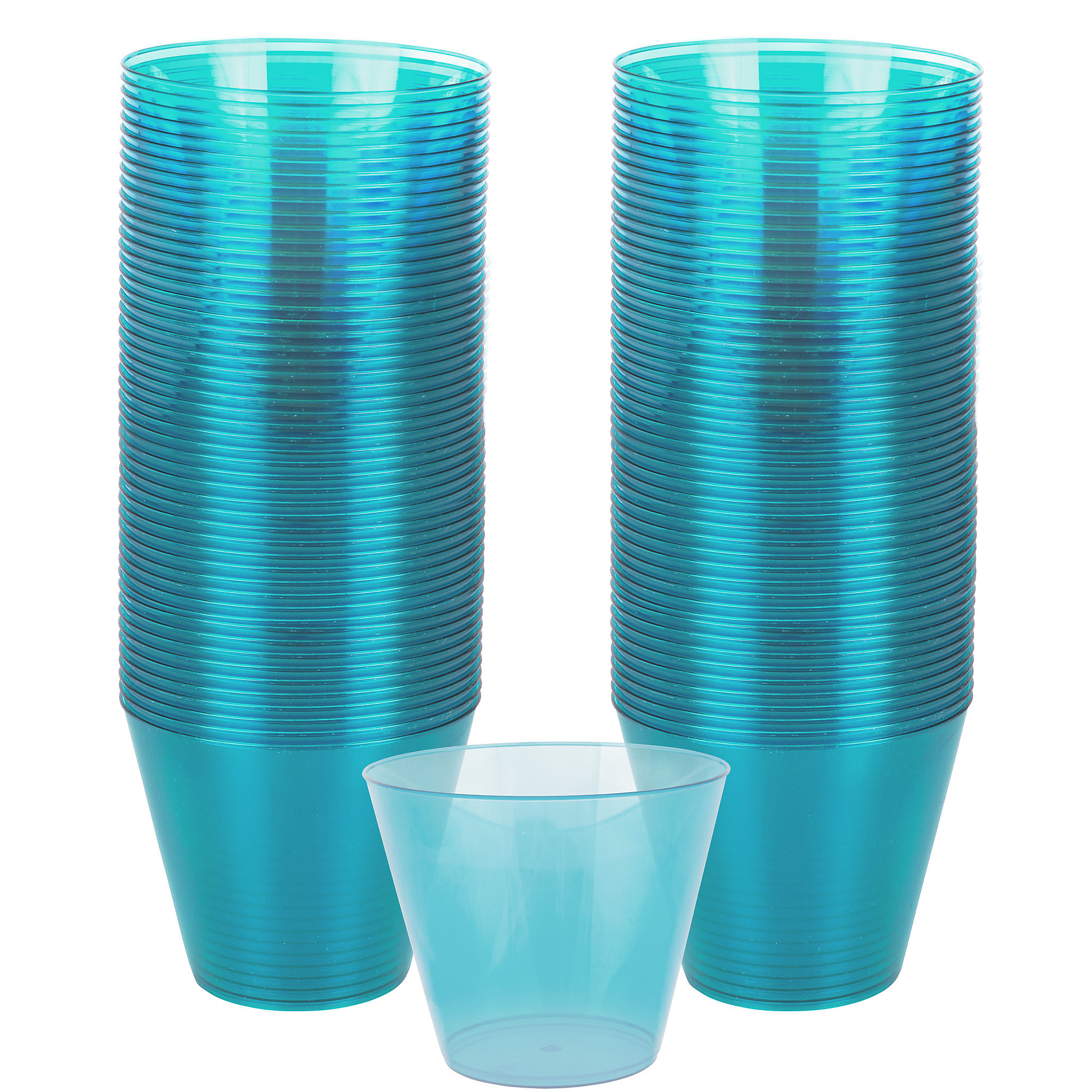 Caribbean Big Party Pack 12 oz Plastic Cups