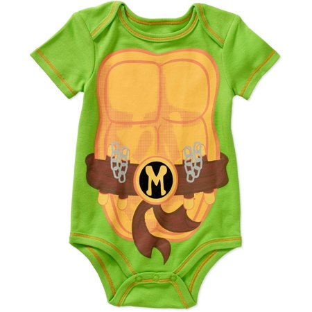 Teenage Mutant Ninja Turtles Newborn Baby Boy Bodysuit - Teenage Onesie