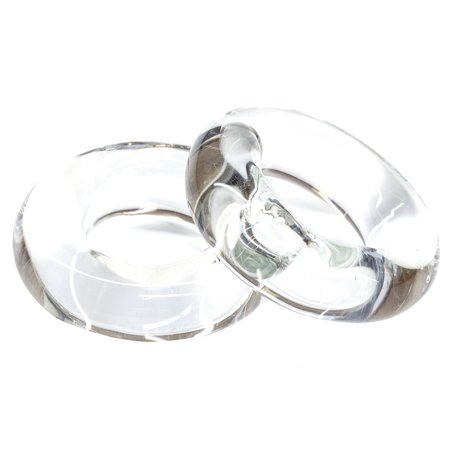 Tigress 88650 Glass Outrigger Rings - Pair