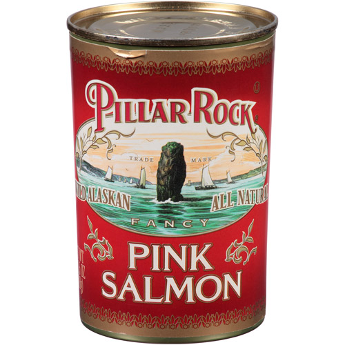 Pillar Rock Pink Salmon, 14.75 oz, (Pack of 24)