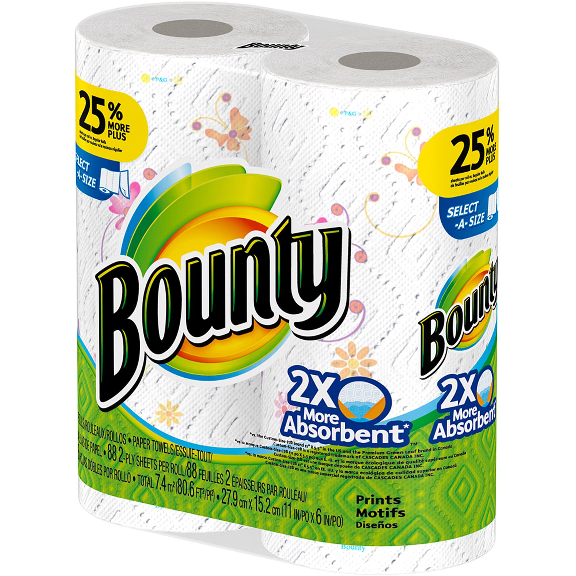 Bounty Paper Towels Fall Prints