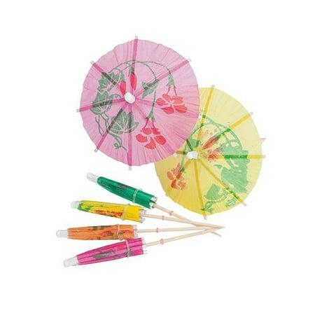 Kidsco Cocktail Umbrella on Wooden Stick (Set of 144)