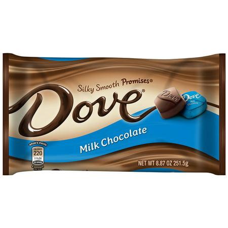 Dove Silky Smooth Promises Milk Chocolate Candy 887 Oz Walmartcom