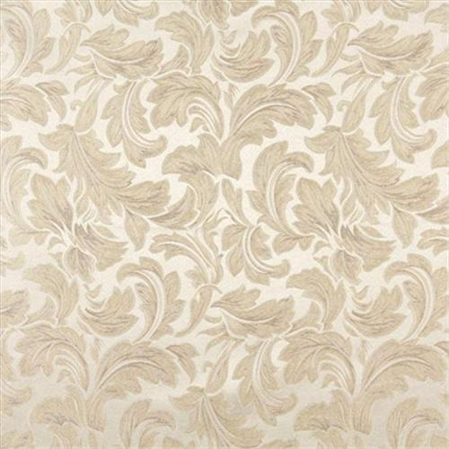 Designer Fabrics F576 54 inch Wide Ivory, Floral Leaf Damask Upholstery And Drapery Grade Fabric
