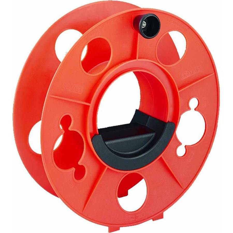 Bayco KW-110 Cord Storage Reel with Center Spin Handle, 100'
