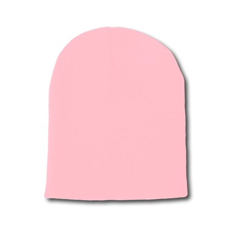 TopHeadwear Solid Winter Short Beanies, Light Pink](Gangster Beanies)