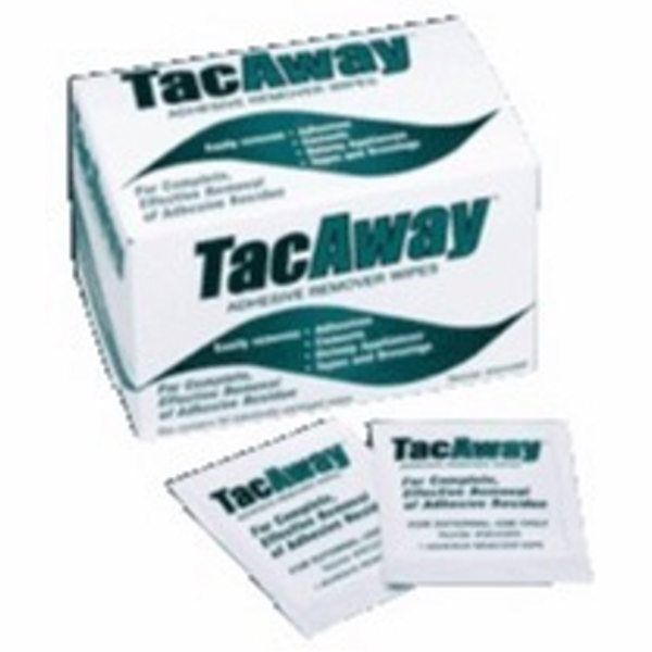 TacAway Adhesive Remover Wipes  50 Count