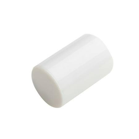 Abs Ring (Longteam Guitar Ukulele Sand Shaker Rhythm Ring Finger Sand Hammer Bell Ukulele Accessories white ABS )