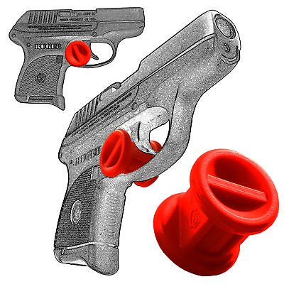 ONE Micro Holster Trigger Stop For Ruger LC9 LC9s EC9 EC9s LC380 Red