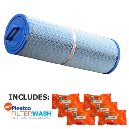 Pleatco Cartridge Filter PCAL60-F2M-M Cal Spa Victory 60 (Antimicrobial) w/ 6x Filter Washes