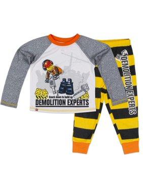 Shirt & Pants, 2-piece Poly Pajama Set (Toddler Boys)
