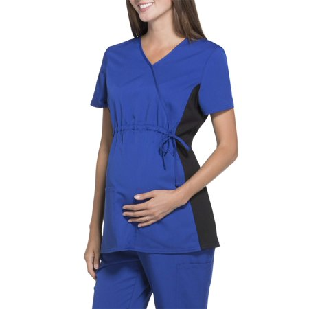 Scrubstar Women's Maternity Stretch Rayon Flexible Scrub Top