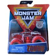 Monster Jam Hot Wheels 1:64 Scale Zombie with red Wheels