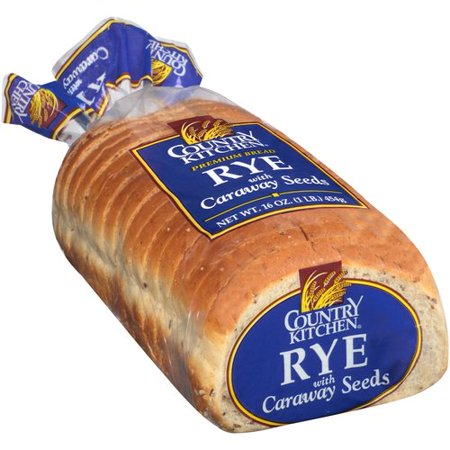 Country Kitchen Rye Bread with Caraway Seeds, 16 oz - Walmart.com