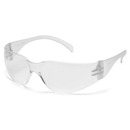 - pyramex safety mini intruder s4110sn clear frame/clear-hardcoated lens