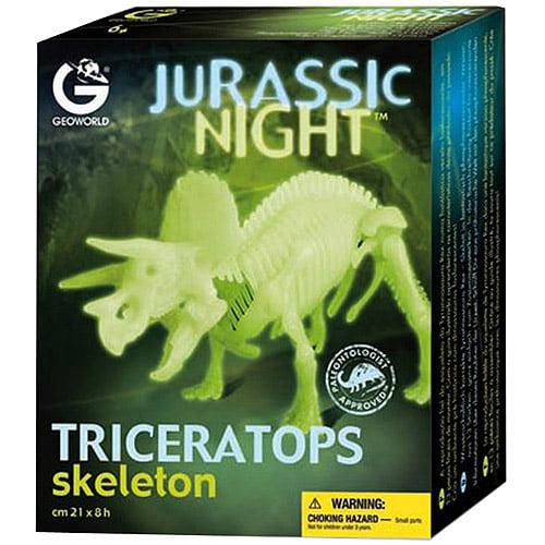 GeoWorld Jurassic Night, Stegosaurus Skeleton
