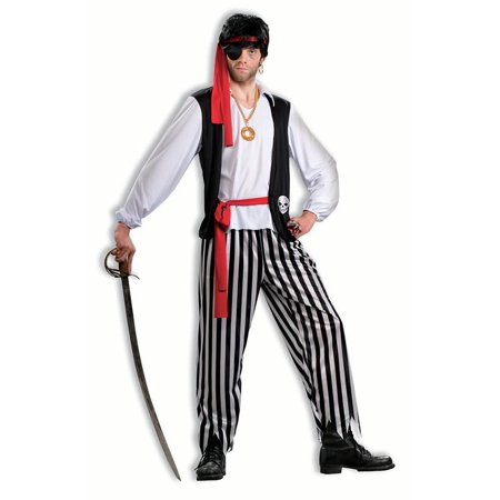 Pirate Matey Costume Adult Men Standard - Men Adult Costumes