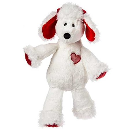 Marshmallow Paris Poodle Soft Toy, 13-Inch, Marshmallow Paris Poodle is an ultra soft friend with white fabric and plastic eyes; features red bows, applique.., By Mary Meyer Ship from US - Paris Stuff