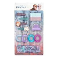 Disney Frozen 2 Elsa & Anna Hair Accessory Kit, 100 pack