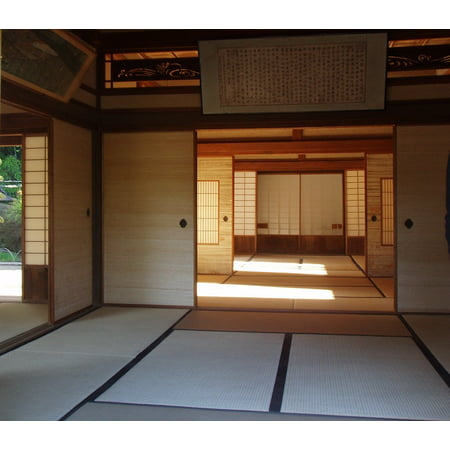 Canvas Print Japanese Interior House Stretched Canvas 10 x -