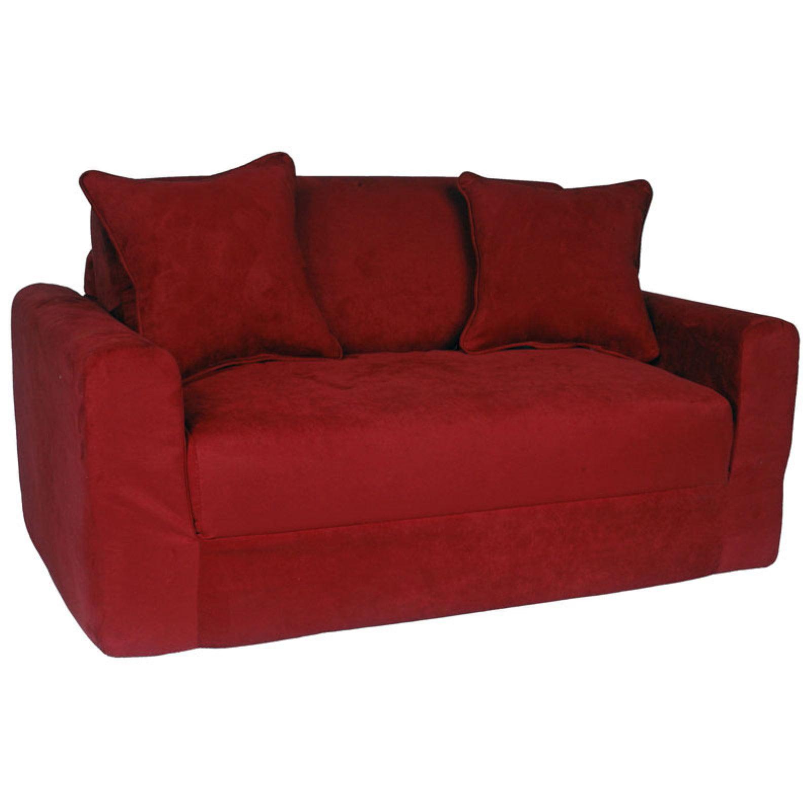 Fun Furnishings Micro Suede Sofa Sleeper