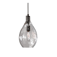 Mini Pendants 1 Light With Matte Black Finish Metal Glass Material 4 inch 60 Watts