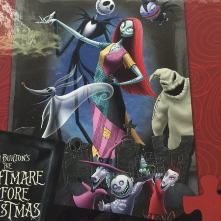 disney nightmare before christmas jack sally 300 pcs puzzle ceaco new