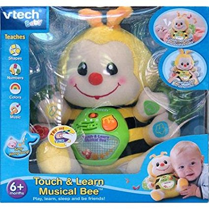 - Touch and Learn Musical Bee, Teaches Basic Numbers, Shapes And Colors..., By VTech Ship... by