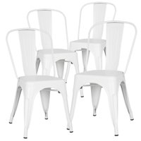 Edgemod Trattoria Side Chair in White (Set of 4)