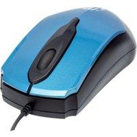 Manhattan 177801 Edge Optical USB Mouse, Blue