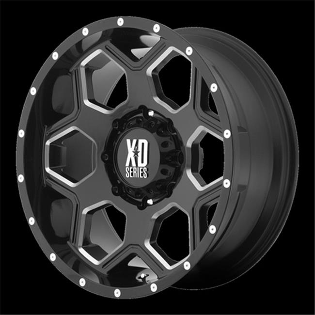 Wheel Pros 1379080318 Xd813 - Battalion, Gross Black Mill...