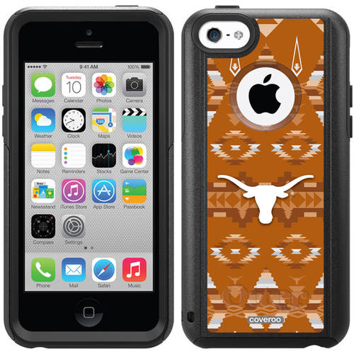 University of Texas Tribal Design on OtterBox Commuter Series Case for Apple iPhone 5c