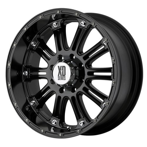 XD Series by KMC Wheels XD795 Hoss Gloss Black Wheel With...