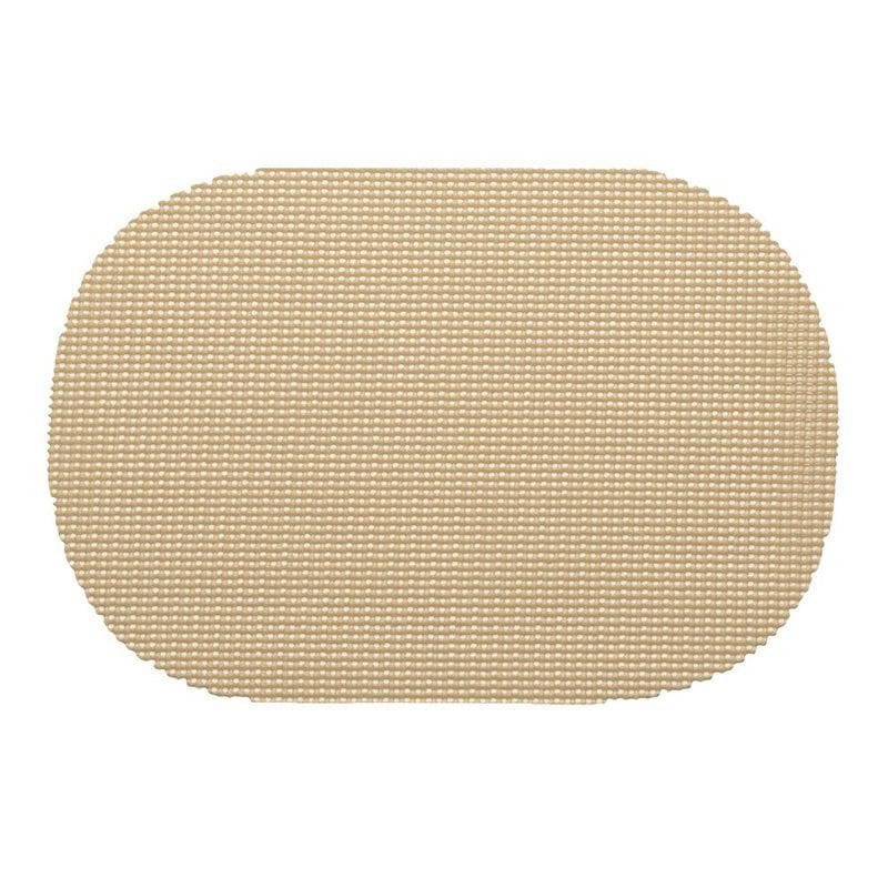 Kraftware Fishnet Oval Placemat - Set of 12