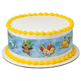 Pokemon Pikachu Party Edible Cake Border Decoration Walmartcom