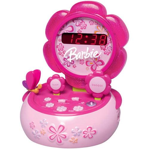 Barbie Hour Garden BAR800 Clock Radio