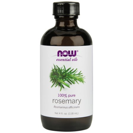 Now, 100% Pure Rosemary Essential Oil, Aromatherapy, 4oz Foods Rosemary Oil