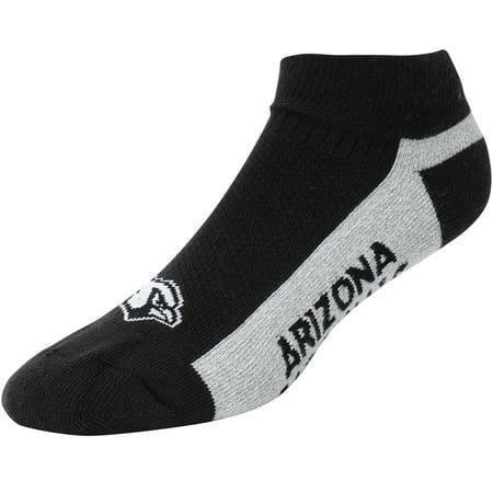 Arizona Cardinals For Bare Feet Marathon Tonal No-Show Socks - L