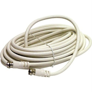 12FT F-F RG6 PATCH CABLE WHT PREMIUM RETAIL BLISTER PACK