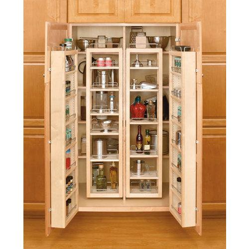 kitchen cabinet organization systems rev a shelf 4wp18 57 kit pull out pantry organizers 4wp 5613